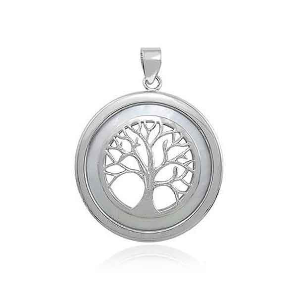 Tree of Life pendant pearl