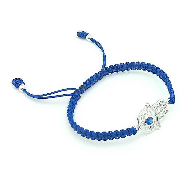 Adjustable bracelet hamsa