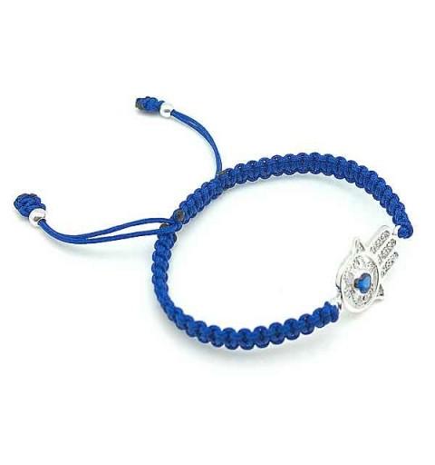 Adjustable bracelet hamsa