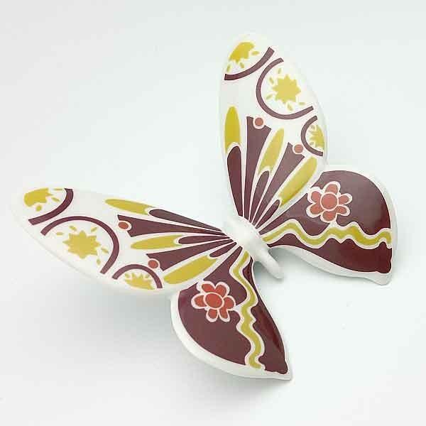 Mariposa de porcelana, Galos.