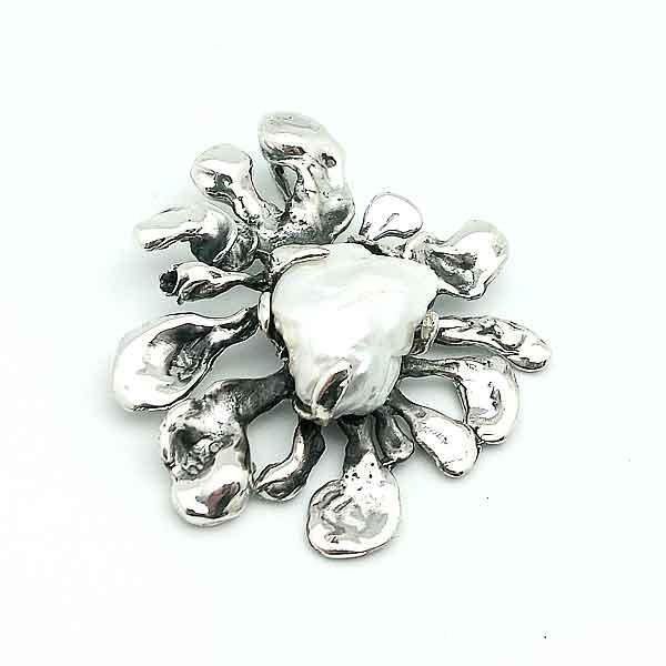 Colgante barroco madre perla