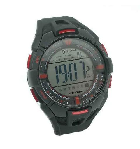 Man Digital Clock