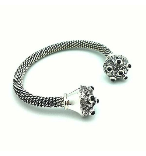 Torque sterling silver