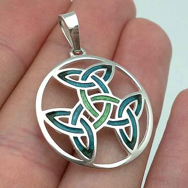 Celtic pendant in silver