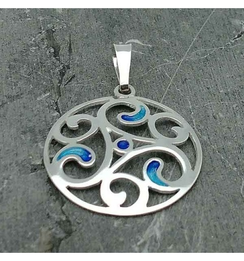 Trisquel pendant in silver