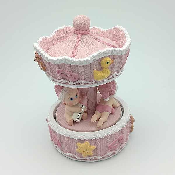 Pink Carousel Child