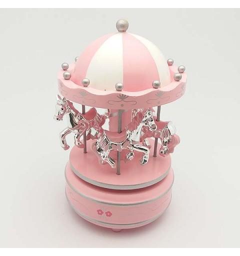 Carousel Child pink