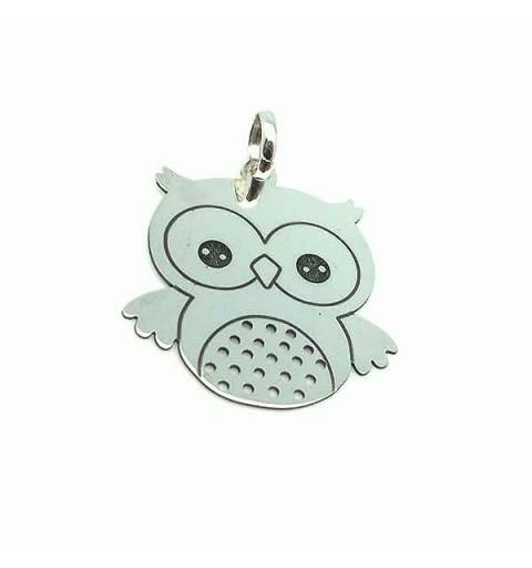 Lucky owl pendant