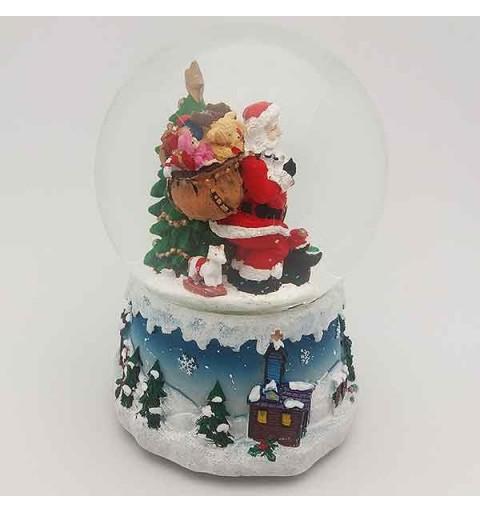 Bola de nieve, papá Noel