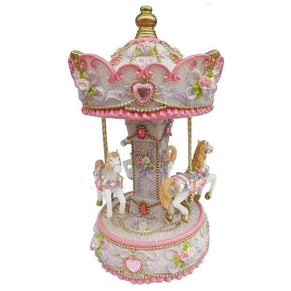 Carousel with ponies