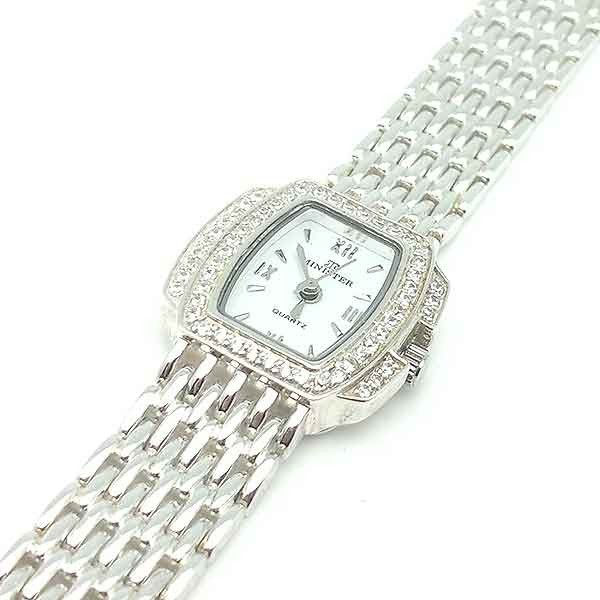 Silver watch for lady