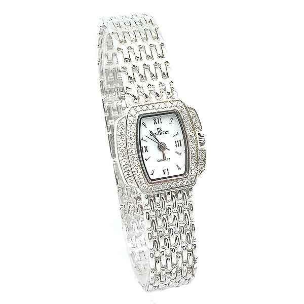 Reloj plata para señora