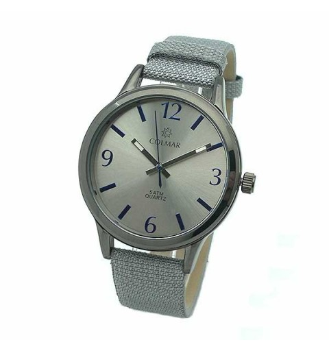 Gray unisex watch