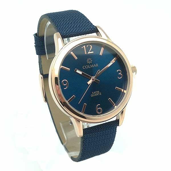 Reloj señora azul