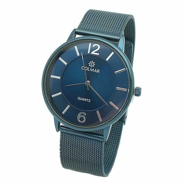 Unisex watch, blue color