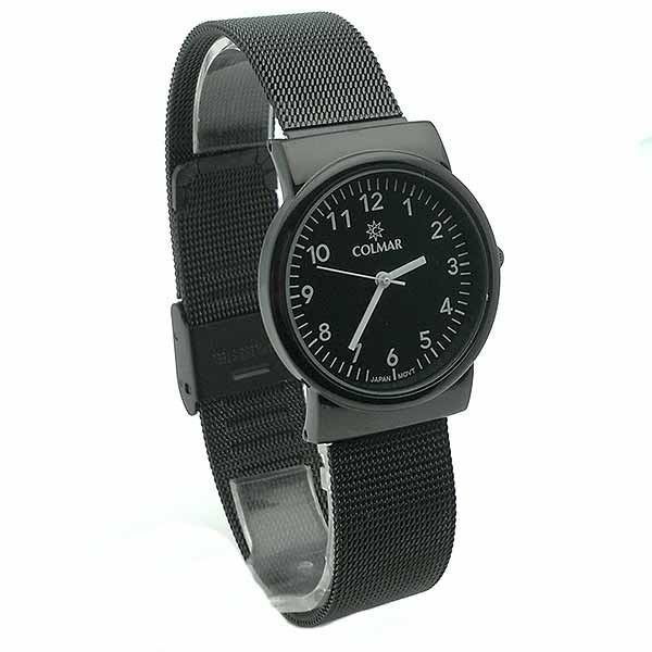 Reloj para mujer, negro.