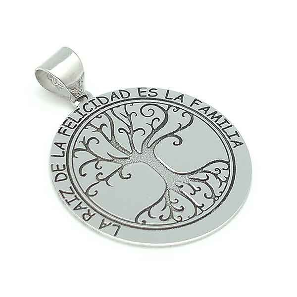 Tree of life, silver.
