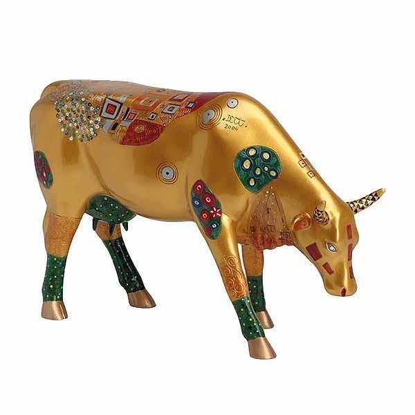 Klimt Cow