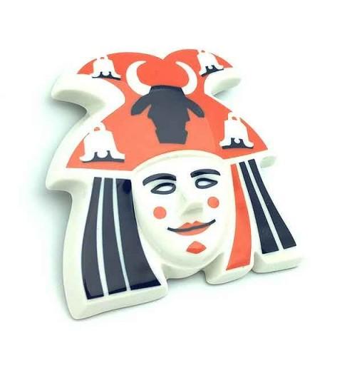 Máscara vergalleiros de Sarreaus
