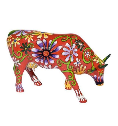 Flower Lover Cow