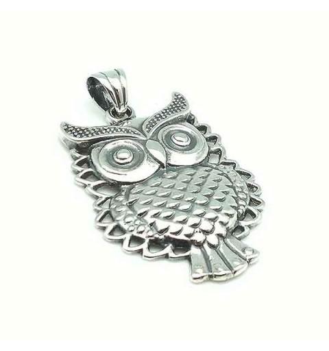 Silver Owl Pendant