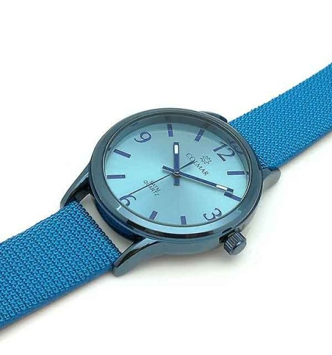 Unisex watch light blue