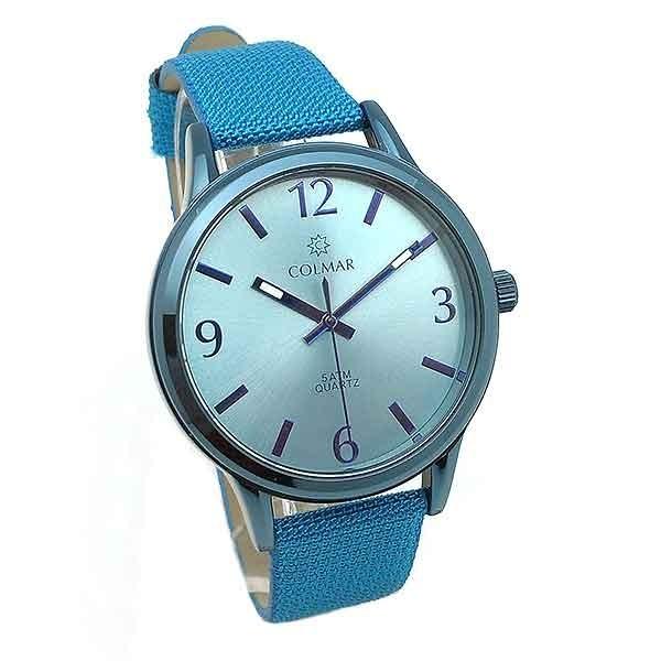 Reloj unisex azul claro
