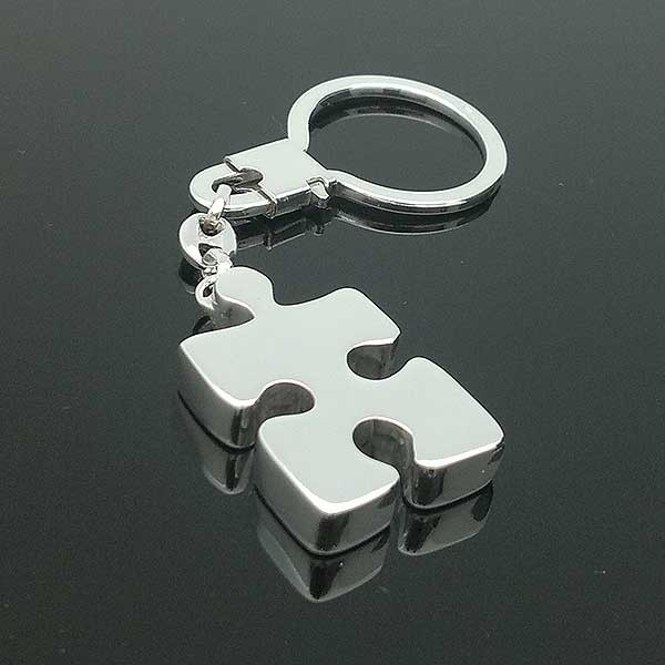 3D puzzle keychain