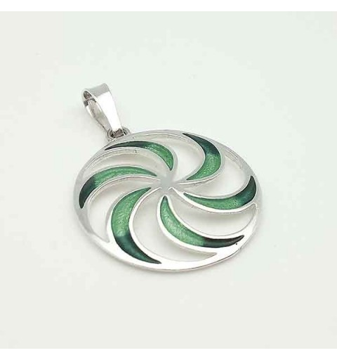 Spiral shape pendant