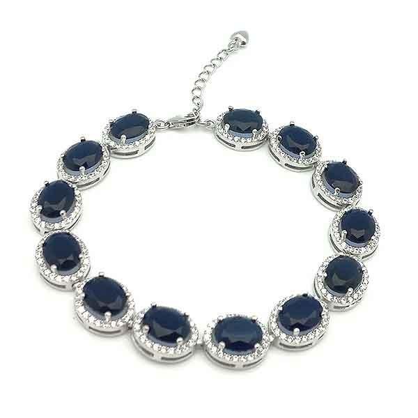 Silver bracelet, elegant
