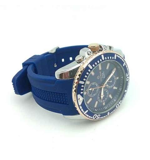 Men's watch, blue color