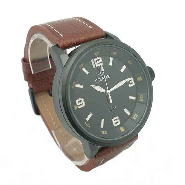 Reloj marrón para hombre