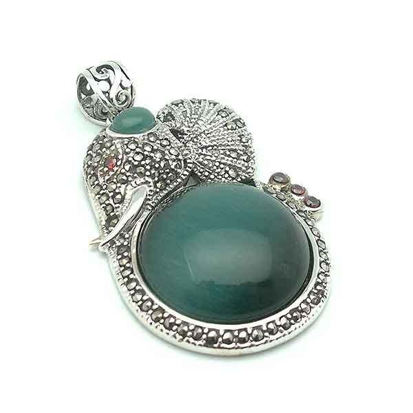 Elephant in silver
