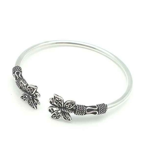 Rigid butterflies bracelet