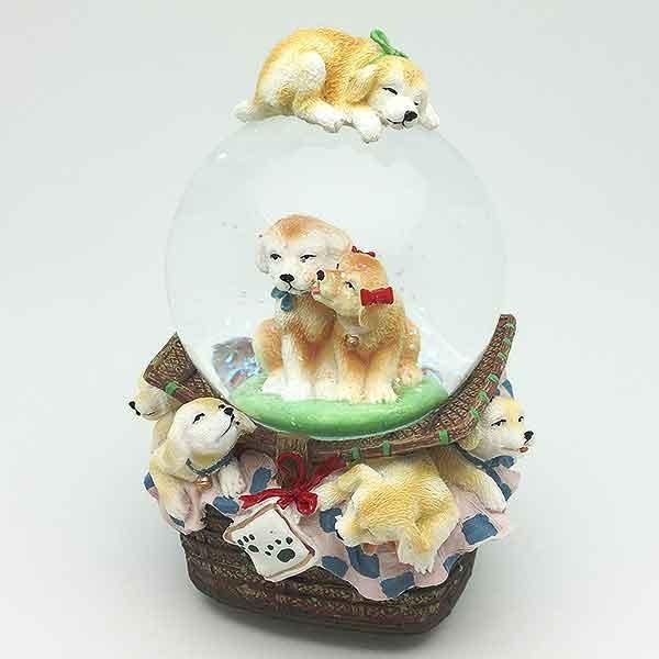 Bola de nieve con perritos