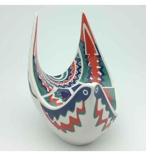 Paloma de porcelana