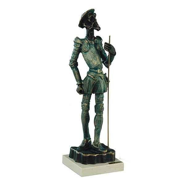 Don Quiijote riding