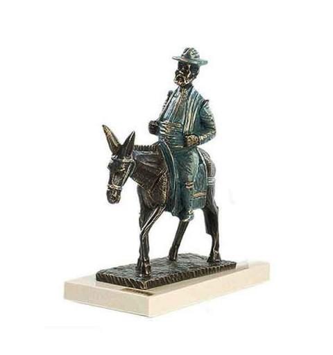 Sancho Panza en burro