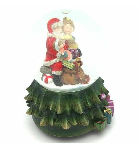 Snowball Santa Claus