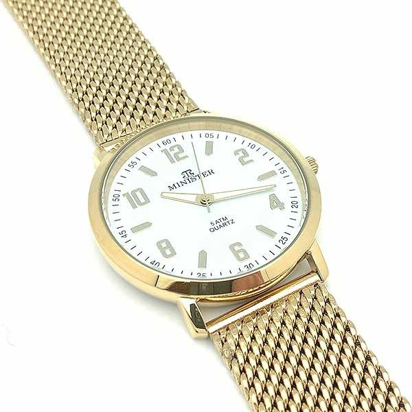 Lady plated watch