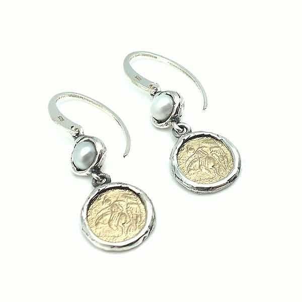 Coin earrings