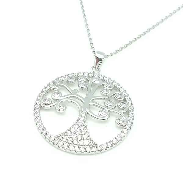 Tree life in silver
