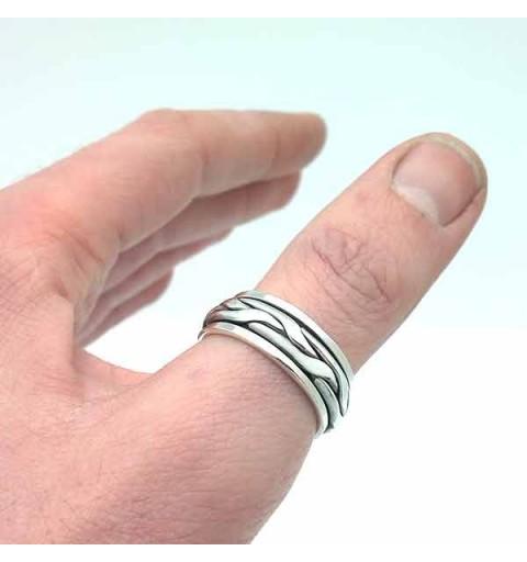 Anti-stress man ring