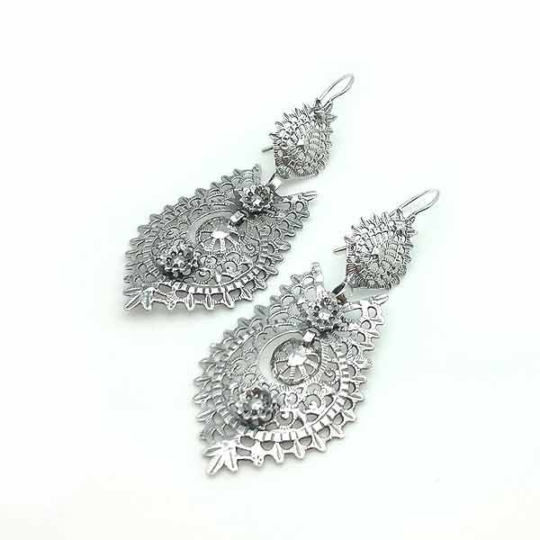 Galician filigree earrings