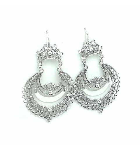 Galician earrings with filigree