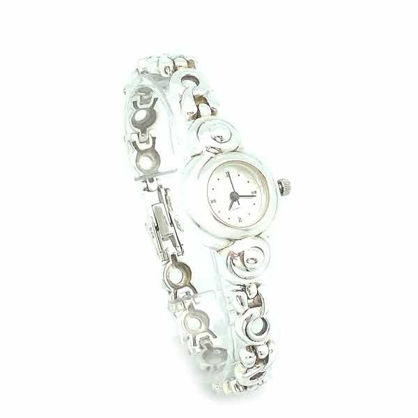 Sterling silver watch