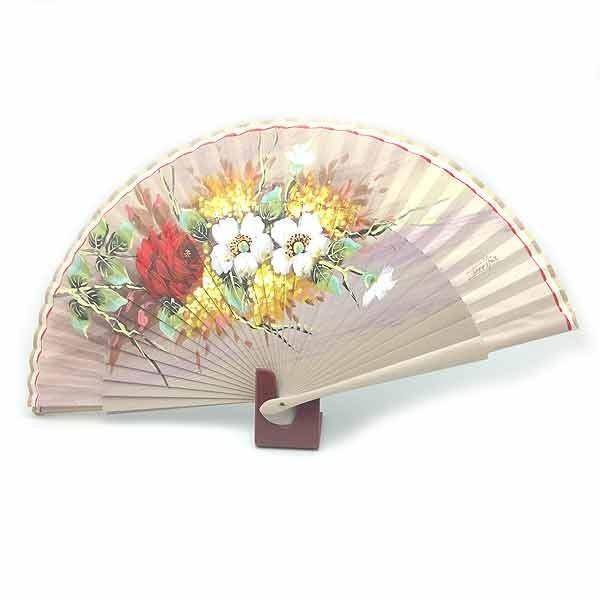 Toasted flower fan