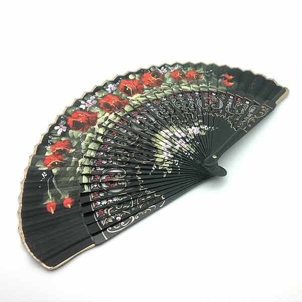 Black fan flowers