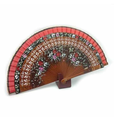 Brown fan flowers