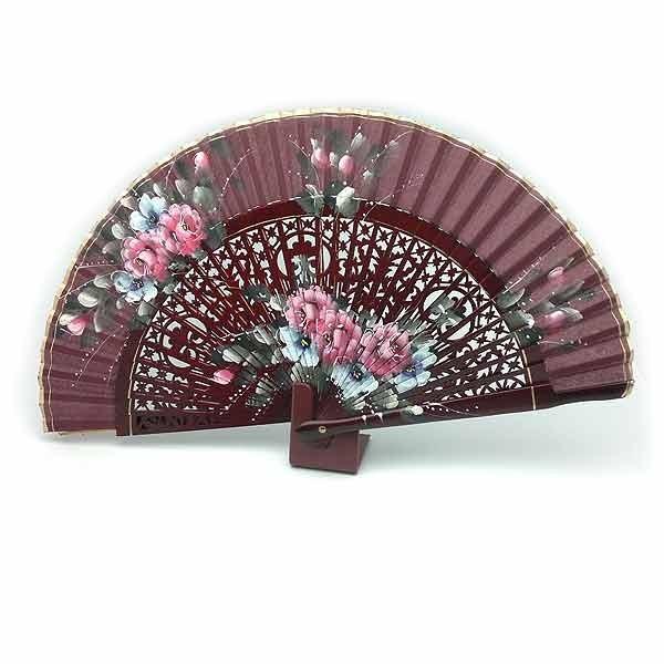 Burgundy fan